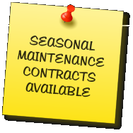 SEASONAL MAINTENANCE CONTRACTS AVAILABLE